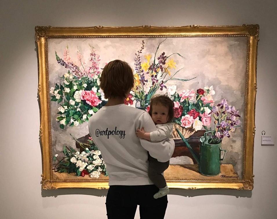 Первые шаги в искусстве для мамы и малыша
