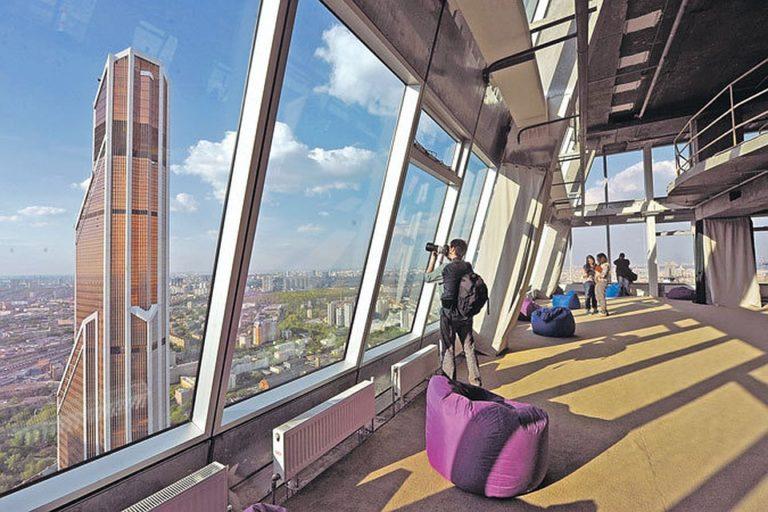 «Мамаход» в самом высоком здании Европы — смотровой башни Федерация