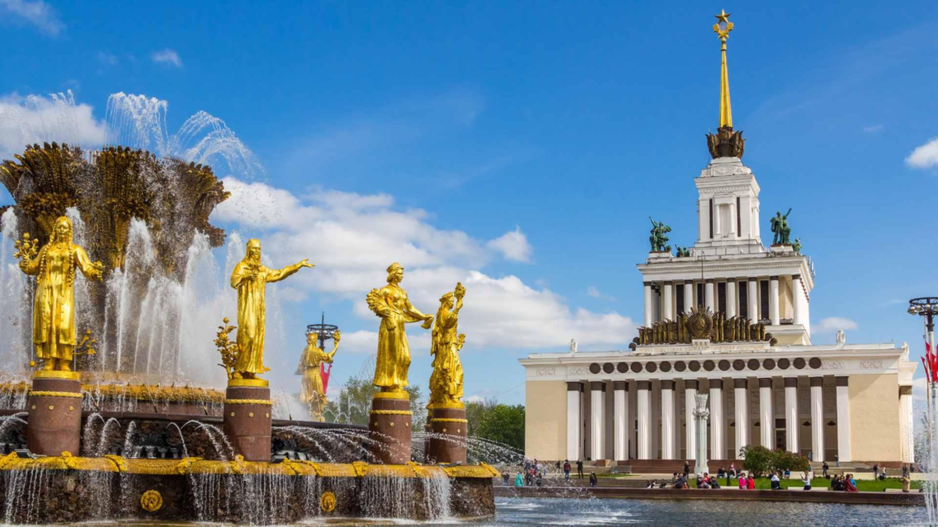Мамаход прогулка — Советская история на ВДНХ