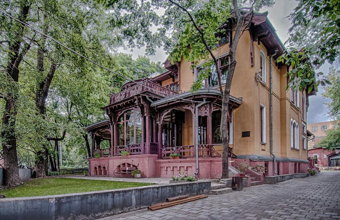 Кекушевский модерн в особняке фабриканта – миллионера Носова