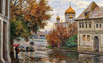 Мамаход в Сен-Жерменское предместье Москвы (Пречистенка), 0+